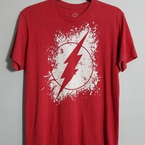 Awesome DC Comics red The Flash tee, M